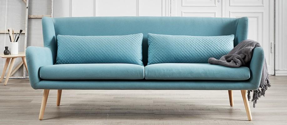 570€ Skandinaviško stiliaus Sofa Lova Trivietė